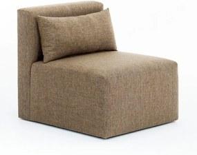 Plus barna egyszemélyes kanapé