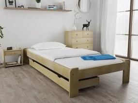 Magnat ADA ágy 120 x 200 cm, fenyőfa Ágyrács: Ágyrács nélkül, Matrac: Deluxe 15 cm matraccal