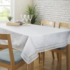 Karina csipkés asztalterítő Ezüst 150 x 260 cm - HS324709