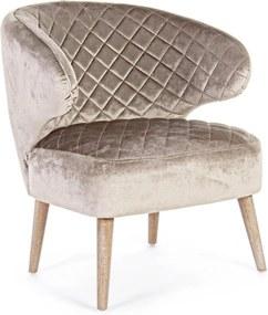 BERTRAND taupe szék