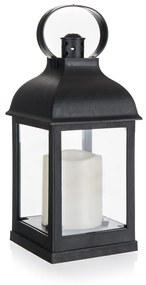 Home Decor Lámpás LED gyertyával, 10 x 10 x 22 cm