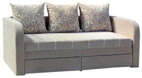 Pablo ágyazható, karfás  kanapé, 150 x 190 cm. a