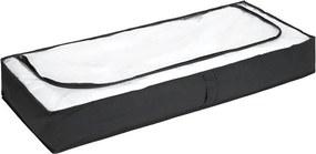 Ágy alatti fekete tároló, 105 x 45 cm - Wenko