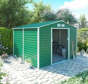 G21 GAH  706 - 277 x 255 cm-es kerti fém ház, zöld (63900558)