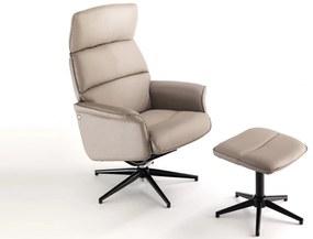 TRAVIATA kényelmi design fotel - beige