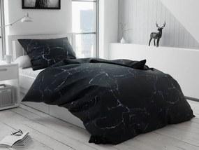 Tempesta fekete pamut ágyneműhuzat