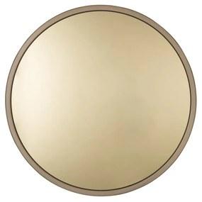 Bandit aranyszínű fali tükör, ø 60 cm - Zuiver