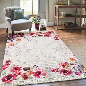 Gyönyörű szőnyeg a nappaliba virágokkal Szélesség: 180 cm | Hossz: 280 cm