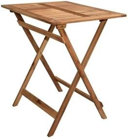 Kerti asztal összecsukható EMA 65 x 55 cm - akácfa