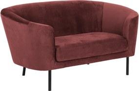 Stílusos kanapé Nilla koráll 160 cm
