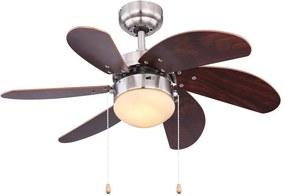 Globo Globo 03810 - Mennyezeti ventilátor RIVALDO 1xE14/60W/230V GL5369