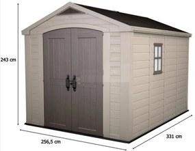 KETER FACTOR 8 x 11 műanyag kerti ház 230454 (17197917)