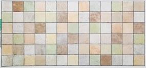 59992 színes kövek Regul PVC falpanel
