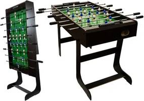 Asztali foci összecsukható BELFAST 121 x 101 cm - barna
