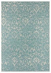 Hatta türkiz-bézs kültéri szőnyeg, 70 x 140 cm - Bougari