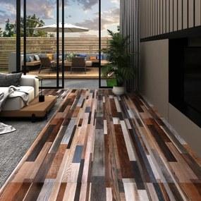 vidaXL többszínű 2 mm-es öntapadó PVC padlóburkolat 5,02 m²