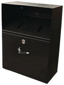 Fali hamutartó Compact, fekete