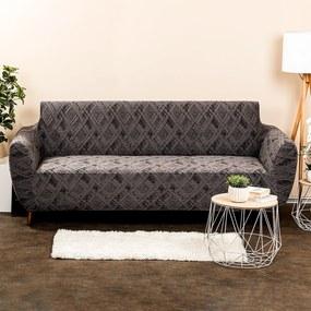 4Home Comfort Plus Multielasztikus  ülőgarnitúrahuzat szürke, 180 - 220 cm, 180 - 220 cm