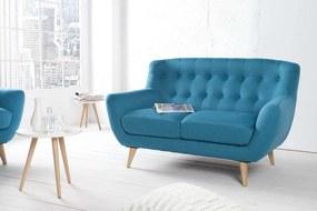 Ülőgarnitúra Sweden kék 140 cm