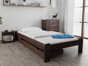 Magnat ADA ágy 120 x 200 cm, diófa Ágyrács: Deszkás ágyráccsal, Matrac: Matrac nélkül