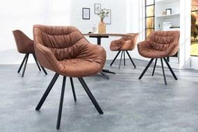 Stílusos szék Kiara barna, antik - raktáron SK 2db