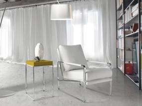 PAMPLONA design fotel - fehér