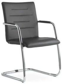 Oslo konferencia szék, fekete