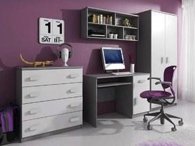 ID Svend Grey szekrénysor - szürke, fehér