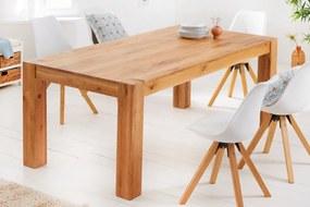 Stílusos étkezőasztal Plain 160 cm vad tölgy