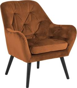 Stílusos fotel Niley - réz