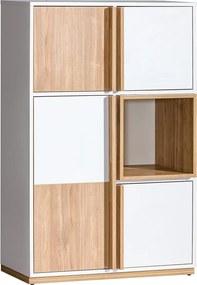 DL ENIF E5 dizájnos polcos szekrény