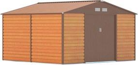 G21 GAH 1085 - 340 x 319 cm kerti tároló, barna