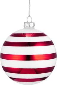 HANG ON üveggömb karácsonyfadísz Candy Cane 8cm