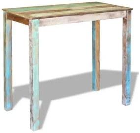 Fa bárasztal, antik stílus, 115 x 60 x 107 cm