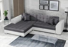 PALERMO ágyazható sarok ülőgarnitúra, 294x80x196 cm, sawana05/madryt511, balos