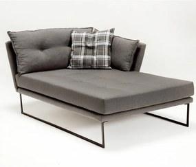 Relax Jobb szürke egyszemélyes kanapé