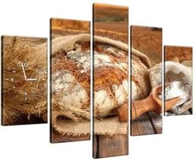 Órás falikép Vidéki házikenyér 150x105cm ZP1356A_5H