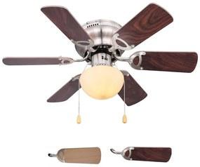 Globo Globo 03802 - Mennyezeti ventilátor UGO 1xE27/60W/230V GL5119