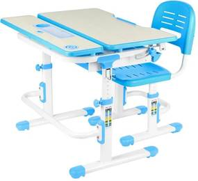 FD Laventa növekvő gyerek íróasztal és szék Szín: Kék