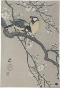 Blossom poszter kézzel készített papírból, 47 x 32 cm - BePureHome