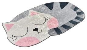 Big Cat csúszásgátlós gyerekszőnyeg, 100 x 160 cm Chilai