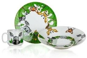 Banquet arátok a dzsungelből gyermek 3 részes étkészlet
