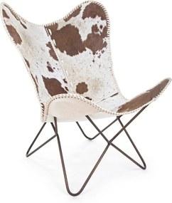 BUFFALO barna fotel