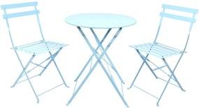 Kék kerti bútor szett