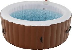Felfújható pezsgőfürdő, fehér/barna, 2-4 személy, 800 l, Kamino 1 Típus