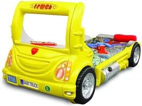 Gyerekágy Inlea4Fun Kamion  - Sárga