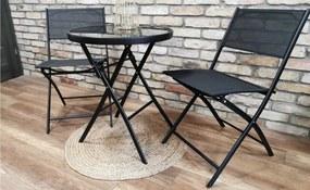 Két összecsukható kerti székből álló szett