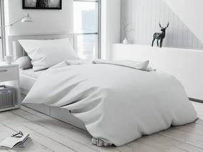 Standard gombos fehér pamut ágyneműhuzat