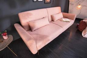 Ágyazható ülőgarnitúra Blaine 208 cm vén rózsaszín