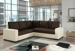 ANDREW sarok ülőgarnitúra, 240x90x240 cm, sawana 16/soft 033 beige
